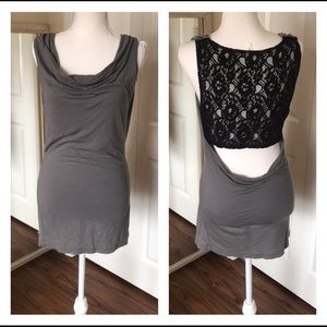 Flounce Nordstrom's sleeveless n lace scoop back